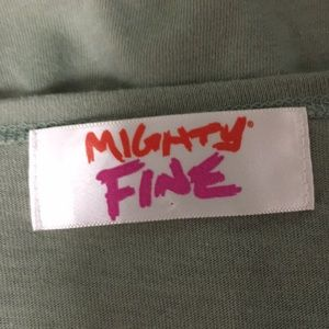 Mighty Fine Tops - Mighty Fine Graphic Crop Top